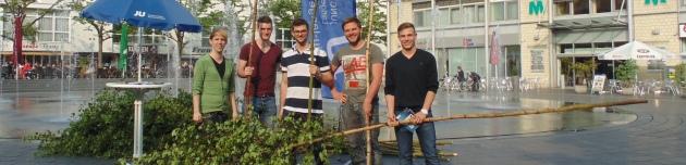 Junge Union verschenkte 30 Maibäume
