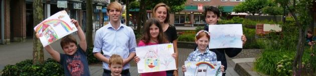 Junge Union kürt die Gewinner – Malwettbewerb beim internationalen Kinder- und Familienfest
