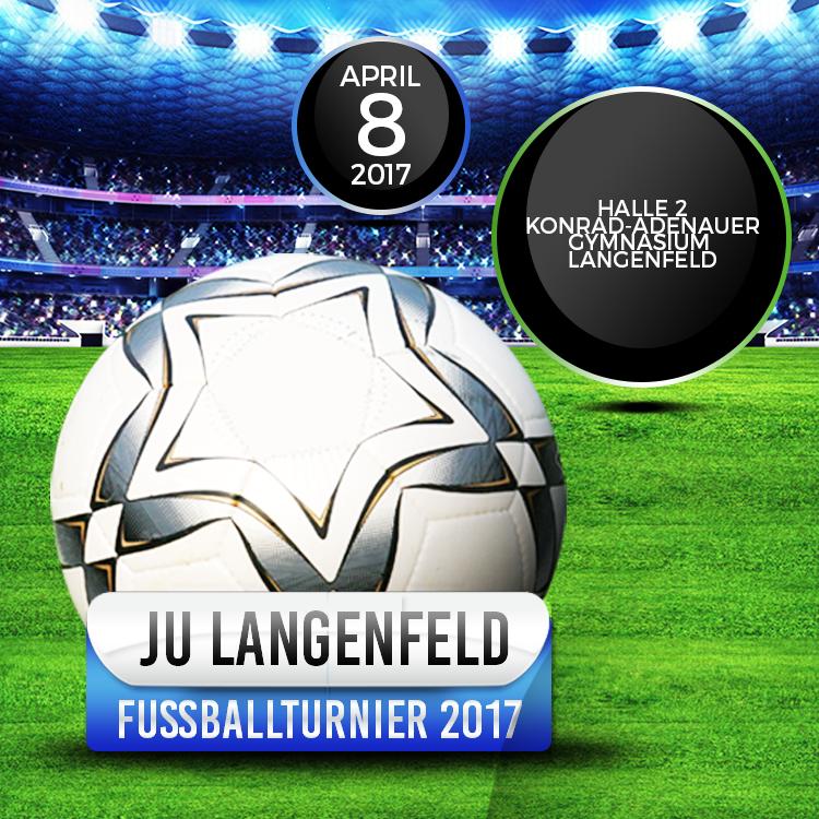 Fußballturnier 2017: Mannschaften noch gesucht – Traditionelles Fußballturnier der Jungen Union findet am 8. April statt