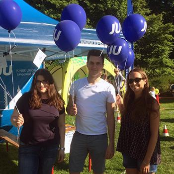 Internationales Kinder- und Familienfest: Junge Union verteilt über 400 Luftballons